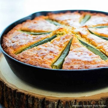 Okra Cornbread recipe
