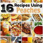 16 Ways To Use Peaches That Aren't Dessert