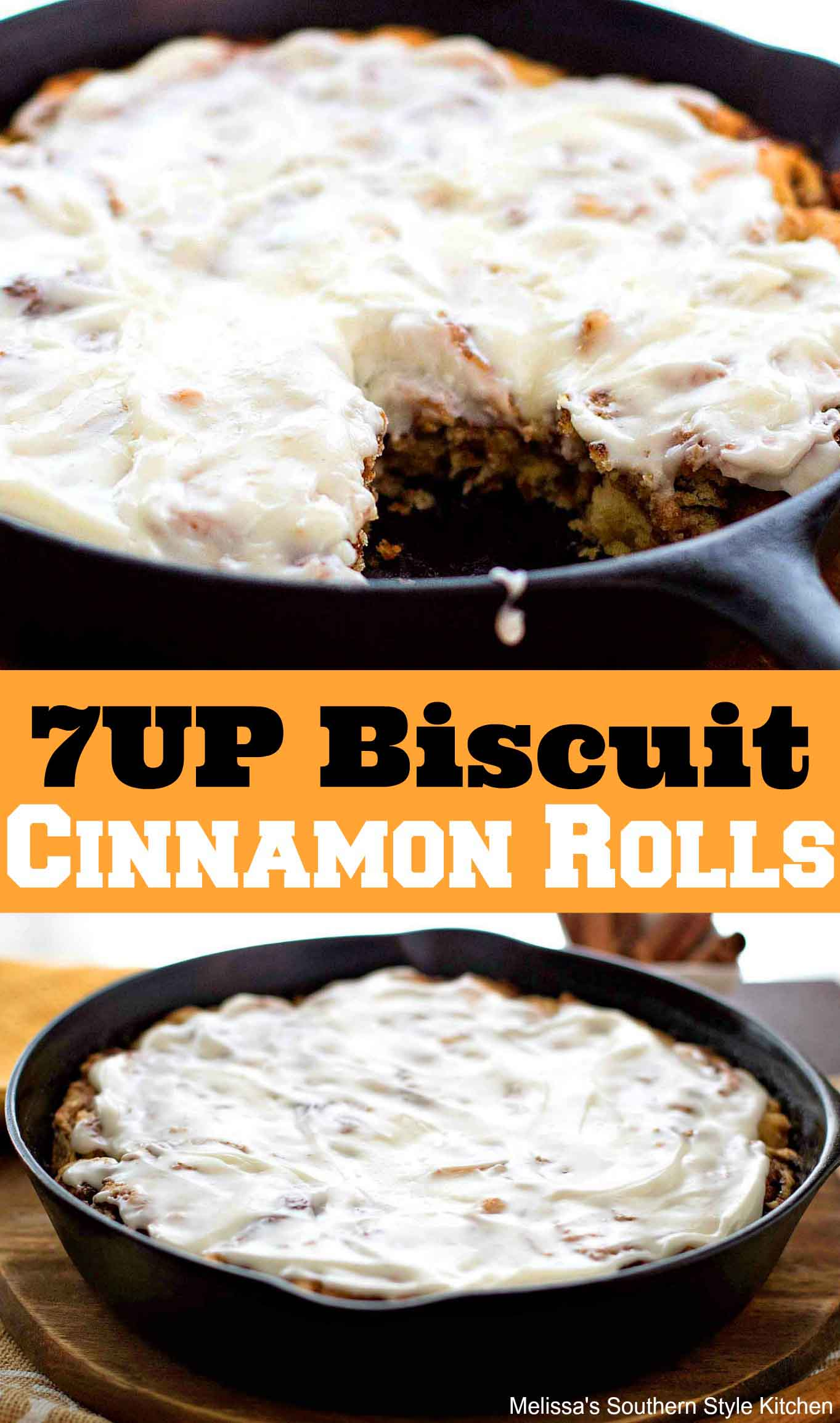 7UP Biscuit Cinnamon Rolls