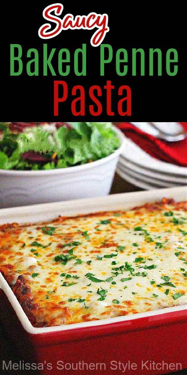 saucy-baked-penne-pasta