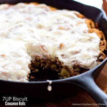 7UP Biscuit Cinnamon Rolls recipe