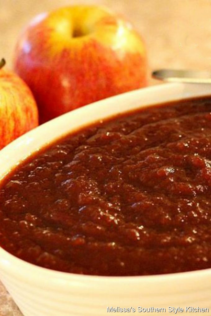 Slow Cooked Cinnamon Spice Apple Butter
