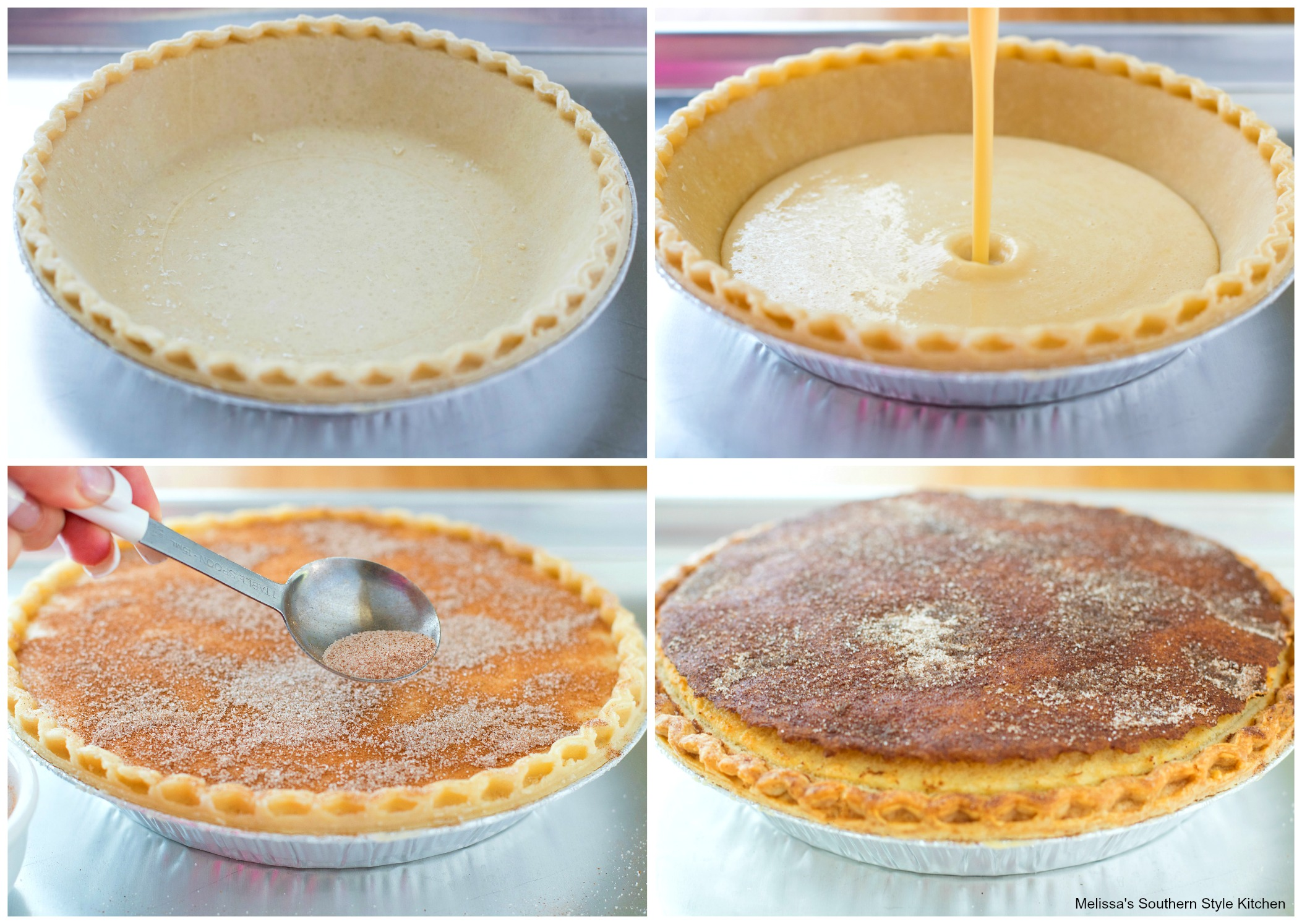 Snickerdoodle Buttermilk Pie
