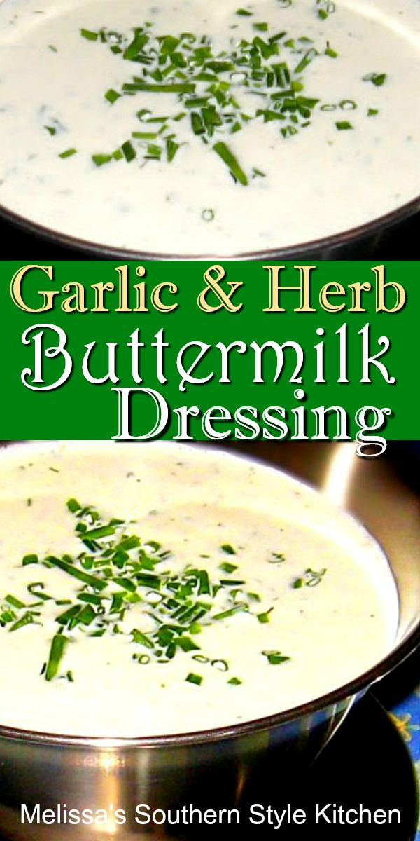 Garlic & Herb Buttermilk Dressing