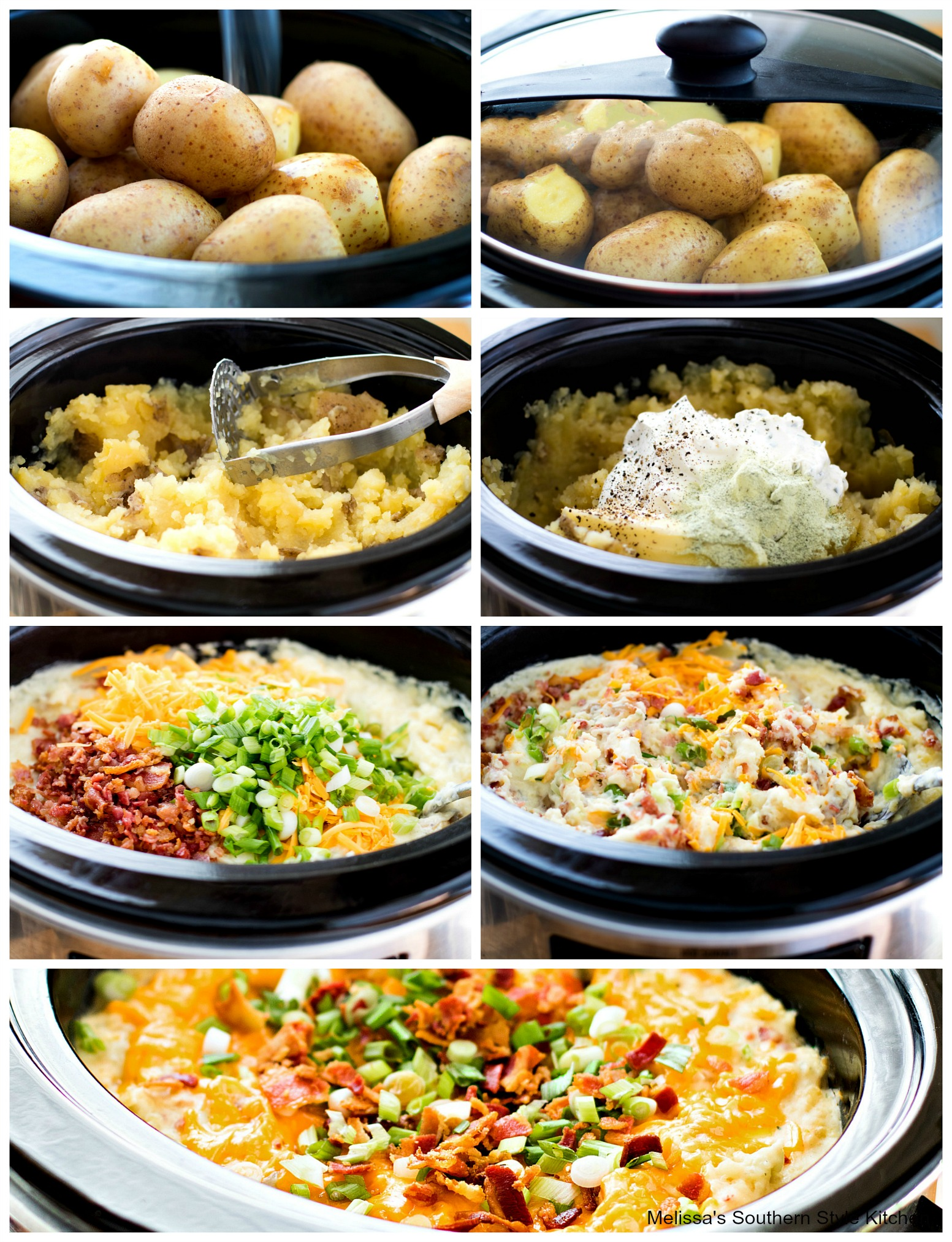 how to make mashed potato casserole in a slow cooker