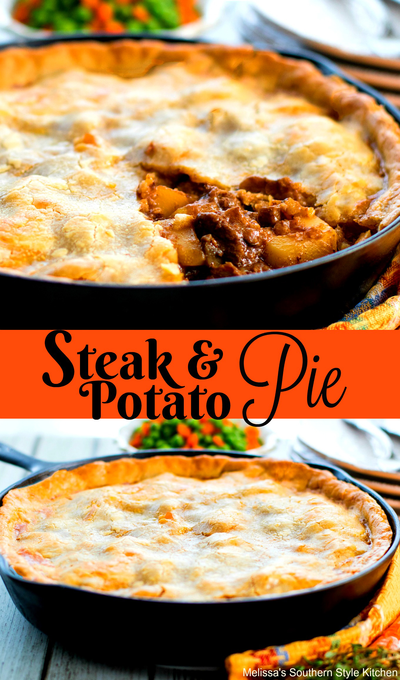 Steak and Potato Pie - melissassouthernstylekitchen.com