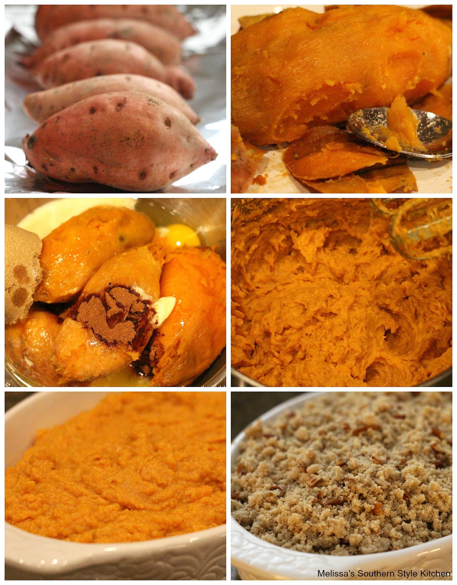 ingredients to make Sweet Potato Casserole