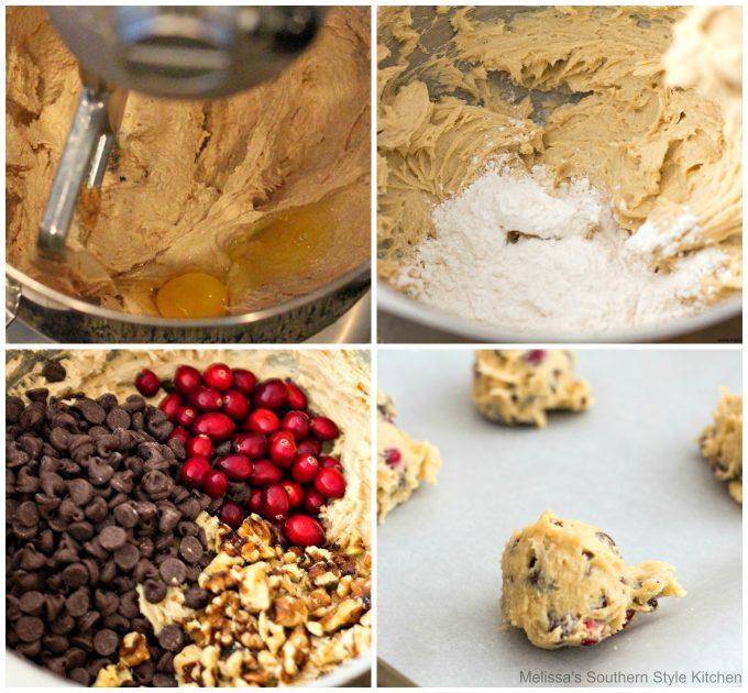 Cranberry Walnut Chocolate Chip Cookies ingredients