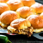 Easy Cheesy Taco Sliders recipe