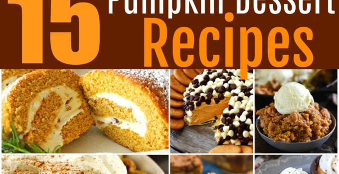 15 Pumpkin Dessert Recipes You'll Be Thankful For