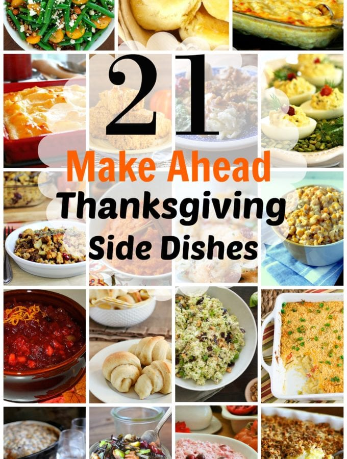 21 Spectacular Make-Ahead Thanksgiving Side Dishes