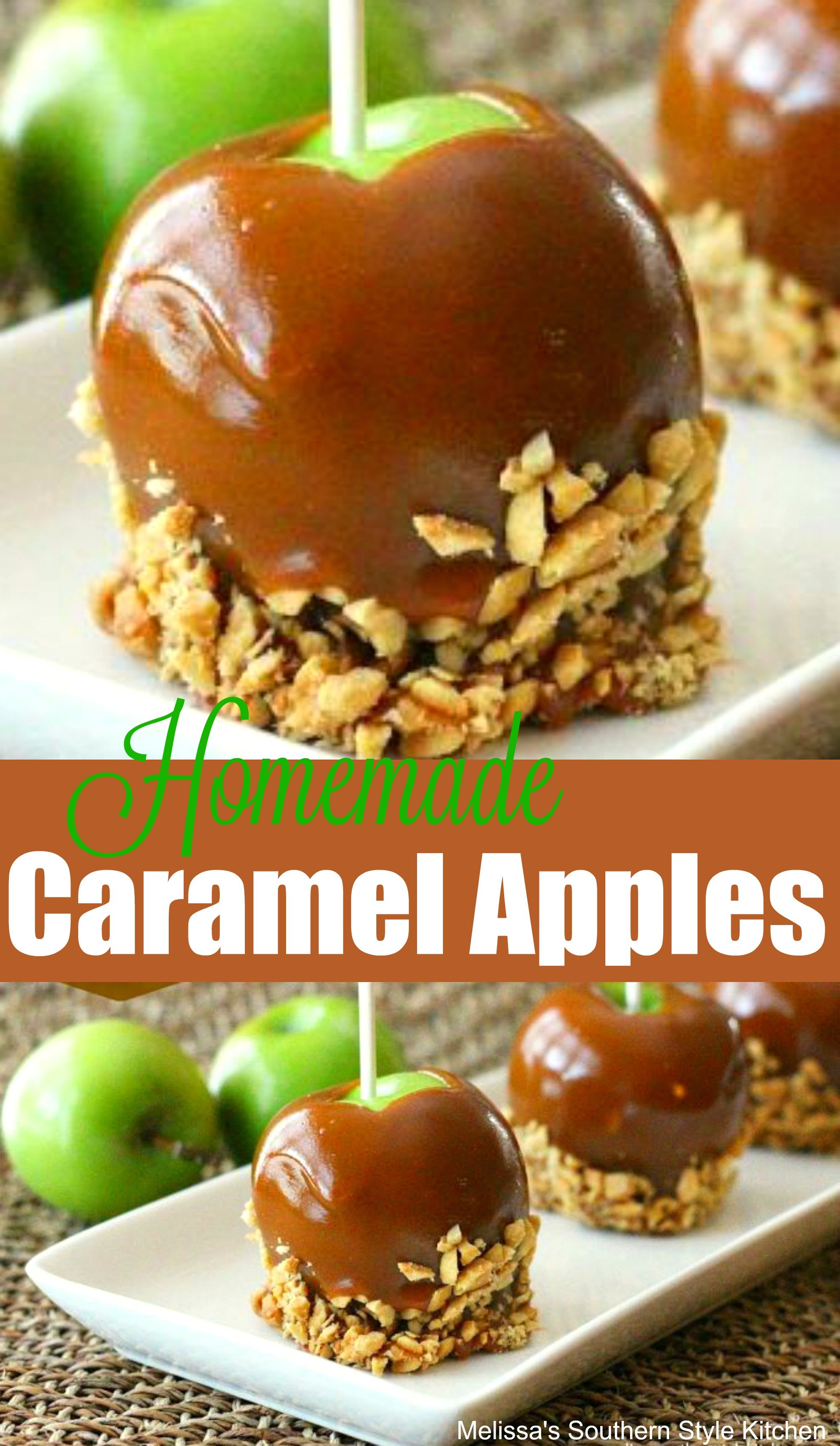 The Perfect Homemade Caramel Dipped Apples