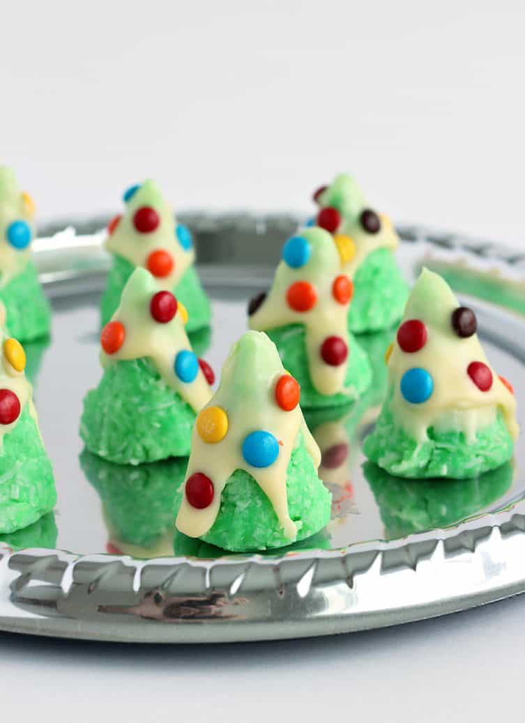30 Easy No Bake Holiday Cookies Bars and Candy