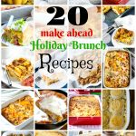 20 Make-Ahead Holiday Brunch Casserole Recipes