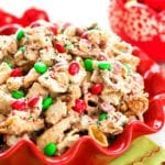 White Chocolate Holiday Snack Mix