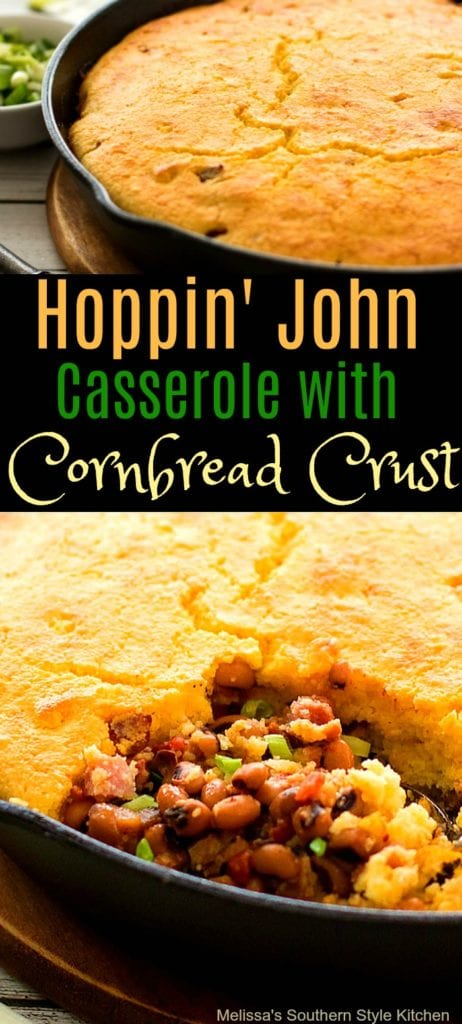 Hoppin' John Casserolewith Cornbread Crust