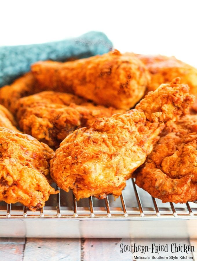 fully cooked crispy Southern Buttermilk Fried Chicken