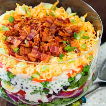 Southern Style Seven Layer Salad