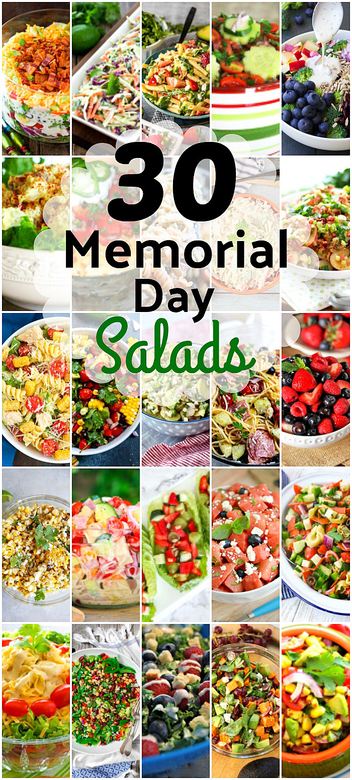 30 Summer Salads Perfect for Your Memorial Day Barbecue