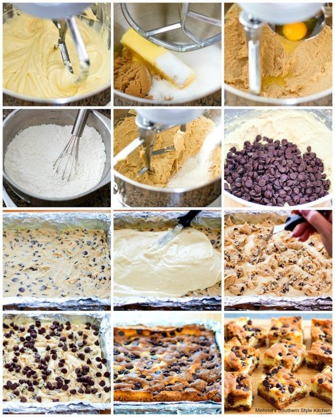 how to make Chocolate Chip Cheesecake Bars