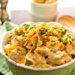 Cheddar Bacon Ranch Tortellini Salad