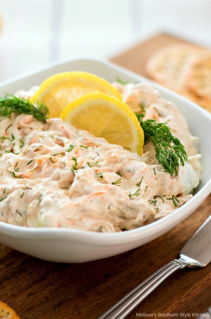 easy salmon dip recipe