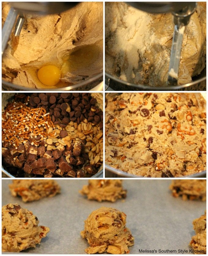 step-by-step images how to make cookie dough