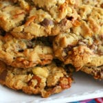 Candy Bar Pretzel Cookies