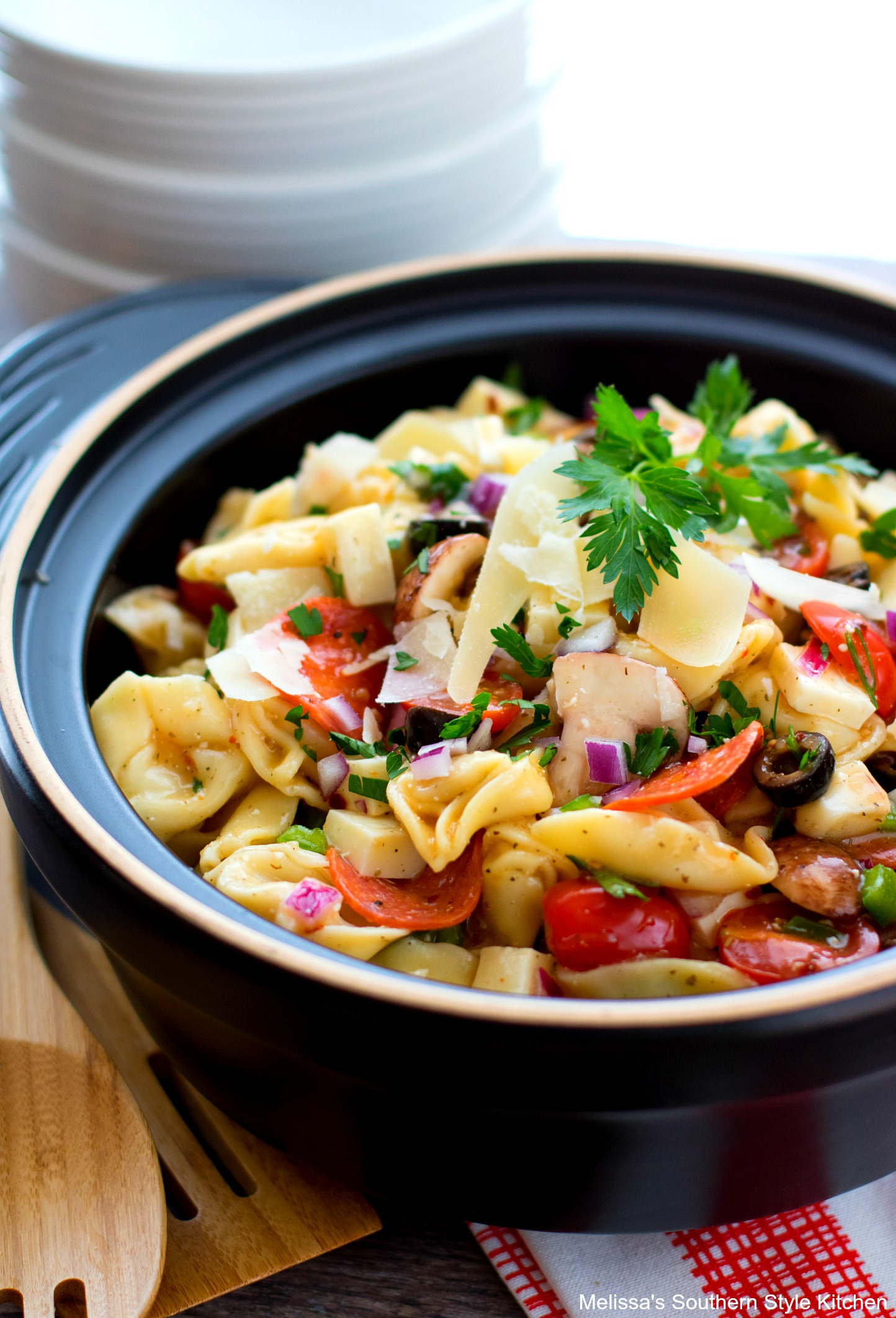 How To Make Supreme Pizza Tortellini Salad