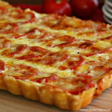 Plum Tomato Tart recipe