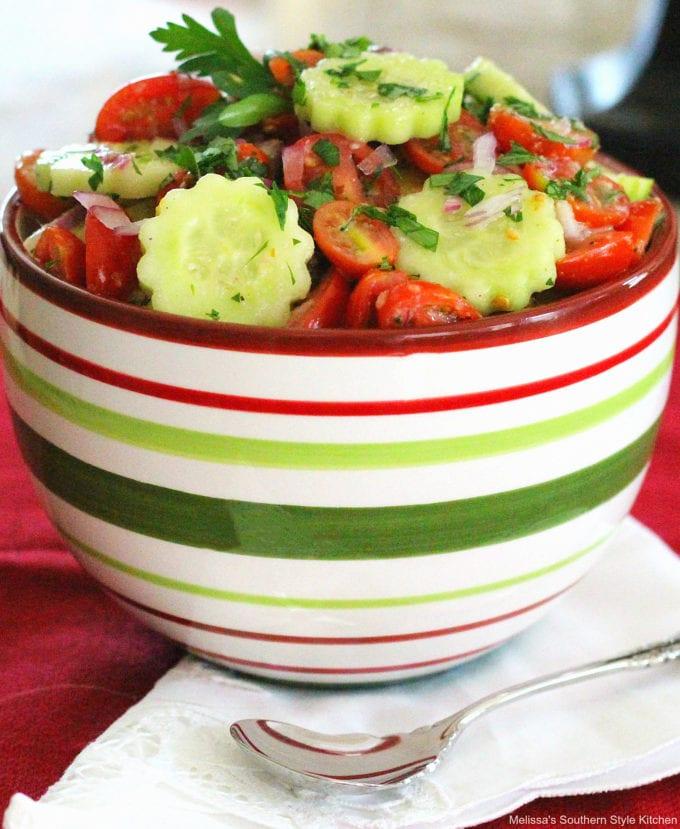 Cherry Tomato Cucumber Salad
