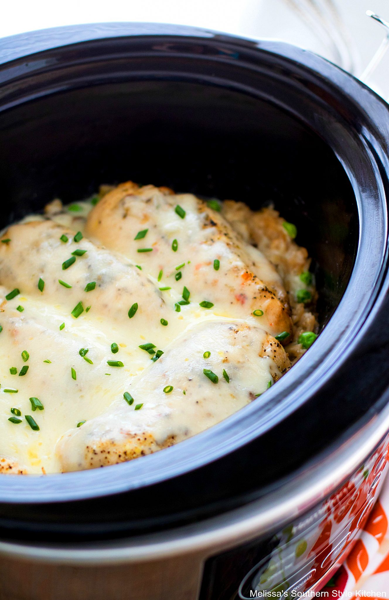 Crockpot Chicken And Rice Melissassouthernstylekitchen Com