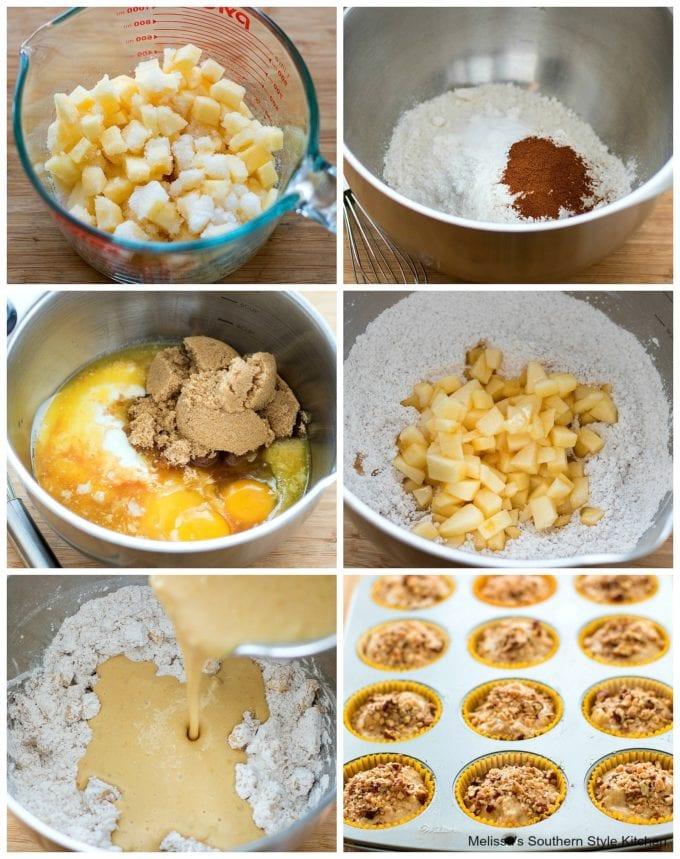 ingredients to make Apple Muffins