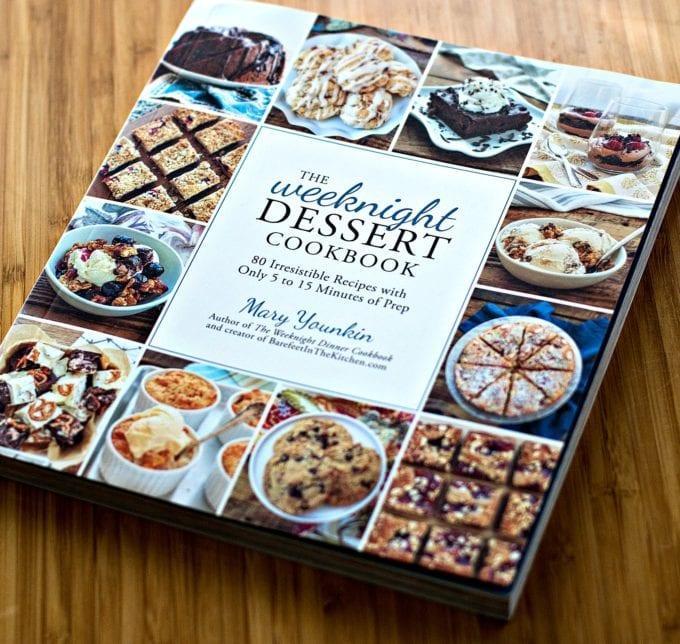The Weeknight Dessert Cookbook Cover