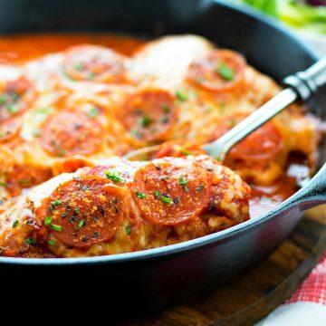 Pepperoni Pizza Chicken Recipe