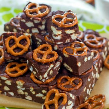 Pretzel Avalanche Fudge
