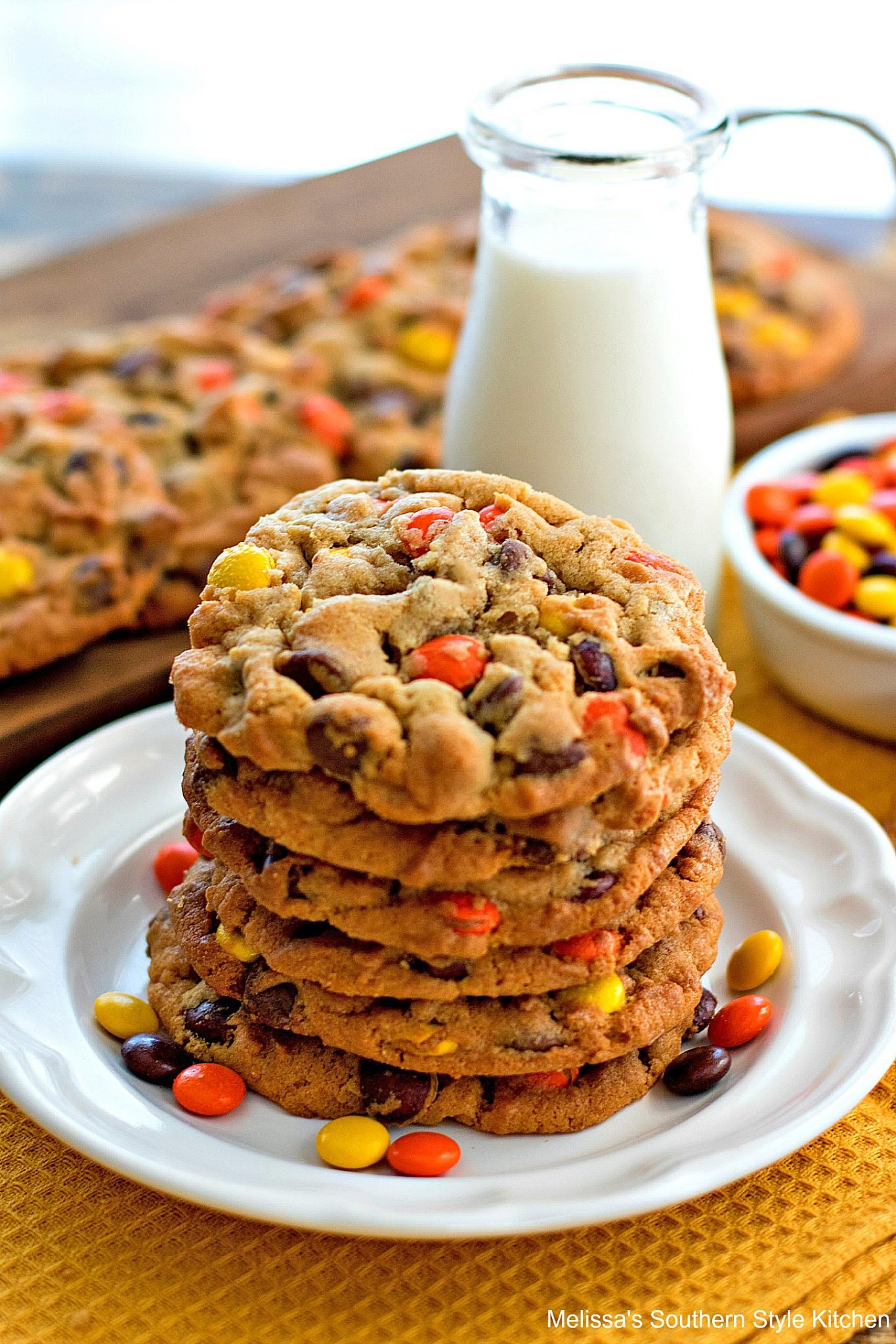 Reese S Peanut Butter Chocolate Chip Cookies