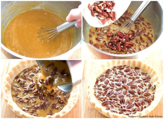 ingredients to make Southern Pecan Pie