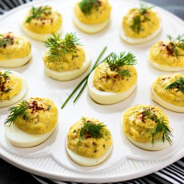 Southern Deviled Eggs Recipe