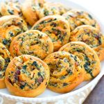 Recipe for Bacon Spinach Crescent Pinwheels