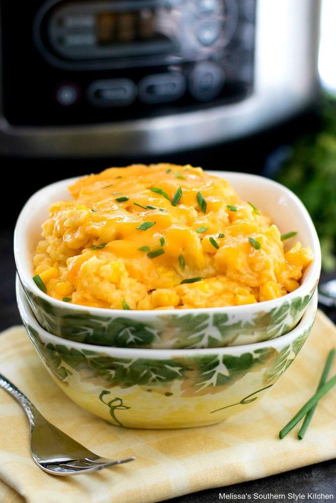 Crock Pot Corn Casserole