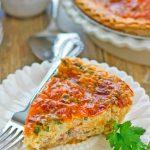 Easy Ham and Cheese Quiche Recipe