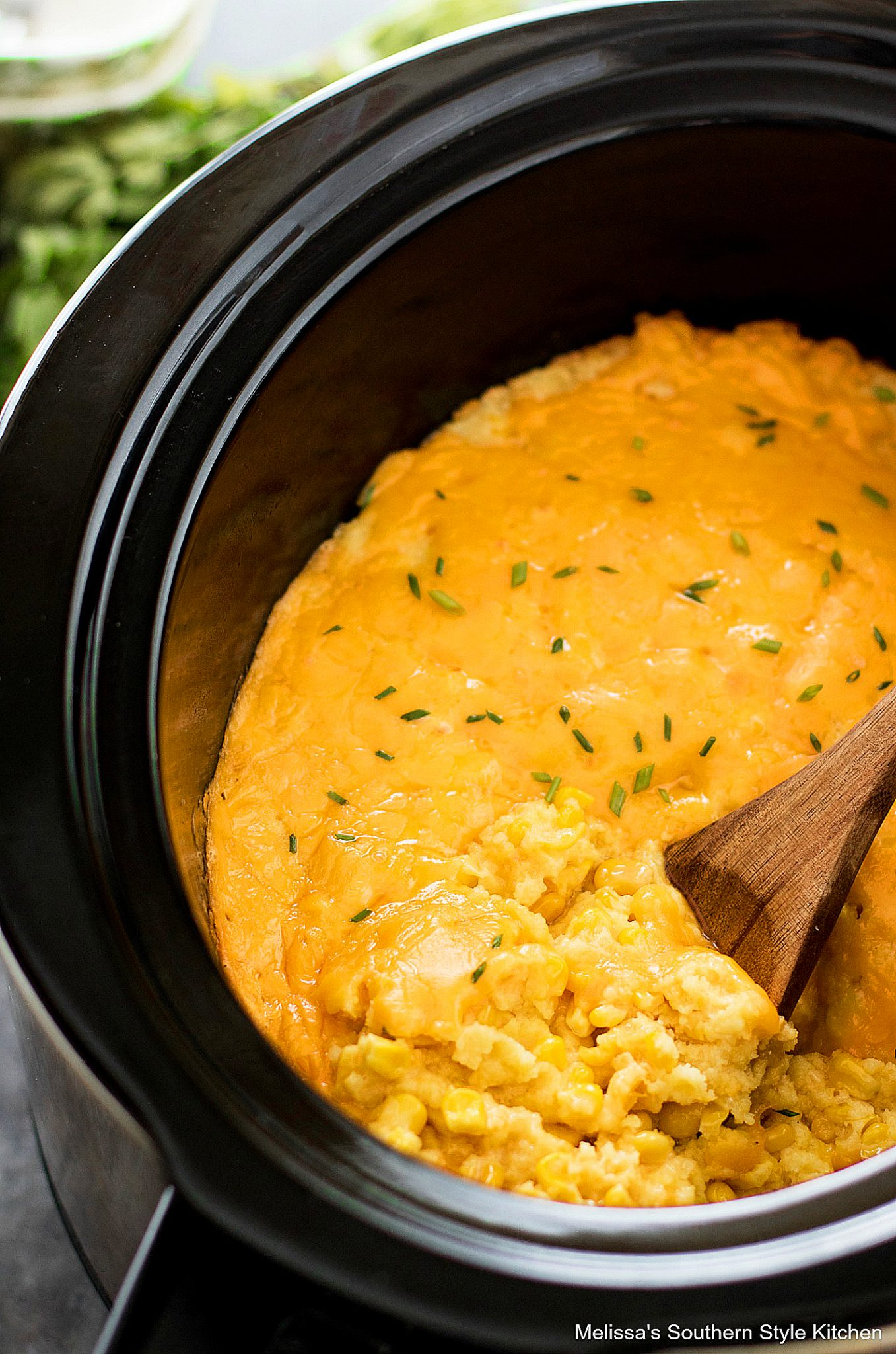 Crock Pot Corn Casserole