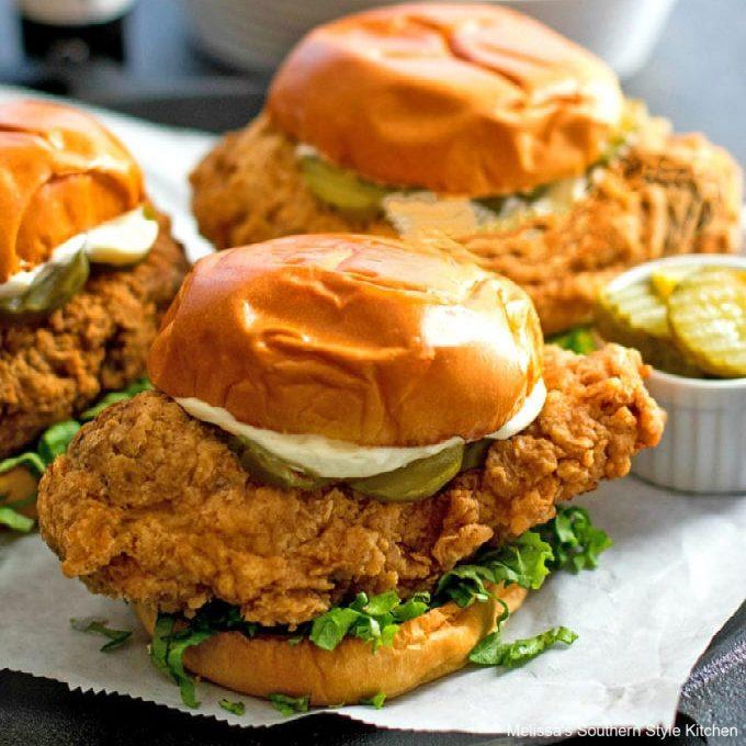 Crispy Chicken Sandwich recipes