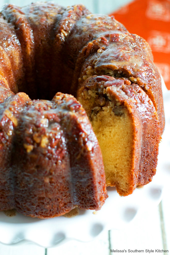 Buttered Rum Cake