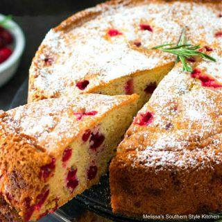 Christmas Cranberry Cake recipe