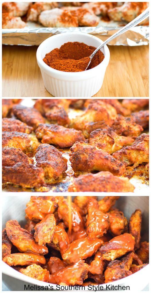 ingredients to make Baked Buffalo Wings