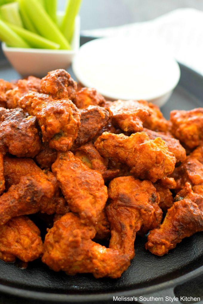 Baked Buffalo Wings Recipe