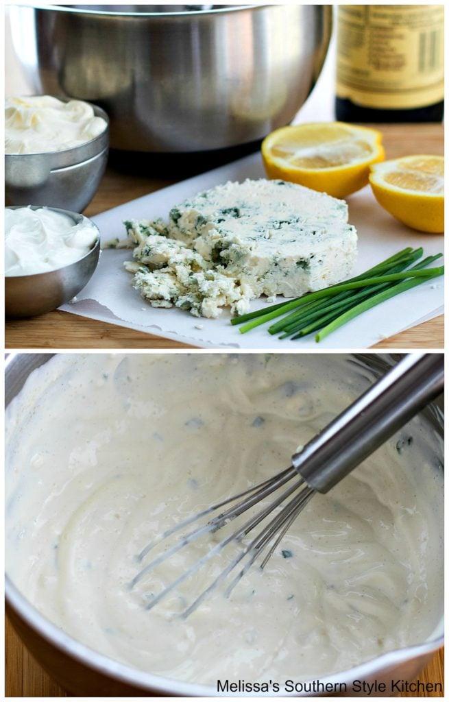 ingredients to make wedge salad