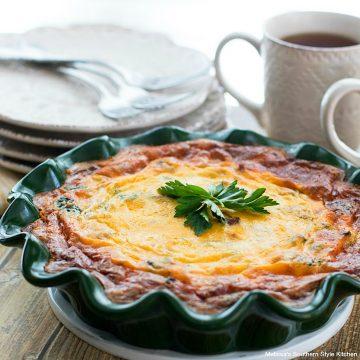 Recipe For Crustless Spinach Quiche